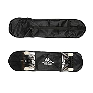 Wasserdicht Skateboard Bag & Verdickung Rucksack & Equipment Bag schwarz