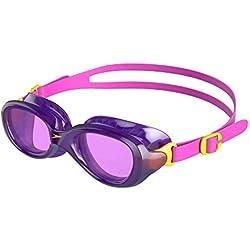 Speedo Futura Classic Gafas de Natación, Unisex niños, Rosa eufórico/Violeta, Talla Única