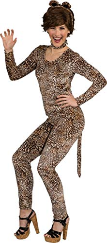 Fancy Me Damen 1990er Jahre Pop Icon Sexy Wild Leopard Animal Jungle Do Night Party Karneval Festival Kostüm Outfit
