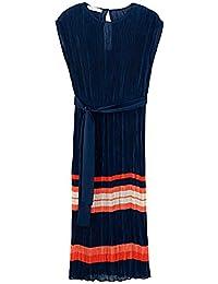 Promod Plissiertes Kleid