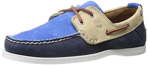 Timberland Earthkeepers Heritage 2 Eye Schuhe Herren Bootsschuhe Mokassins Blau 6936A, Größenauswahl:46