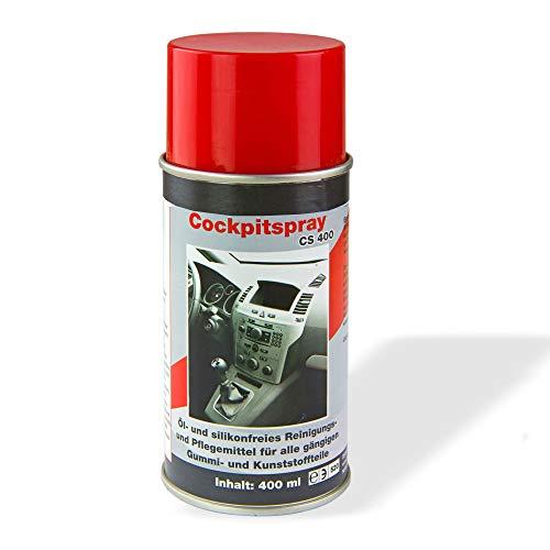 TronicXL 2 Dosen Premium Cockpit Spray a 400 ml Profi Schutz für Auto LKW Motorrad Wohnwagen Wohnmobil Oldtimer PKW KFZ Pflege Pflegemittel zb kompatibel mit Audio VW BMW Mercedes Benz Smart Fendt
