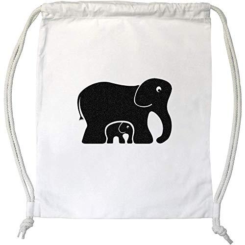 Azeeda 'Elefantes' Cordón / Bolsa de Gimnasio (DB00004299)