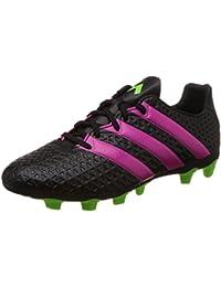 online store d8951 45aa1 adidas Botas de fútbol Ace 16.4 FxG Negro Verde Rosa, ...