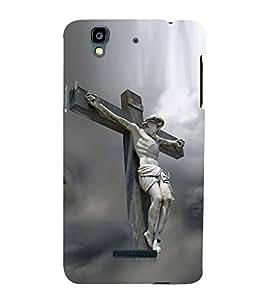 Fuson Designer Back Case Cover for YU Yureka :: YU Yureka AO5510 (Jesus Church Etymology Emmanuel Christ)