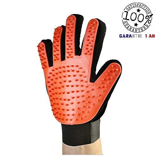 TL-Fellpflege-Handschuh Bürste Haustier Massagehandschuh für Pferde Hunde Katzen Entspannte Fellpflege Striegel Bürsten Fellwechsel Pferdebürste Putzhandschuhe