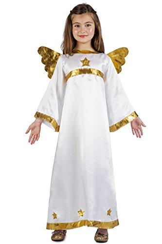 Imagen de disfraz de ángel estrellas para niños