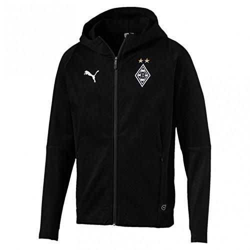 PUMA Herren BMG Casuals Hoody Without Sponsor Logo Jacke, Black, XL