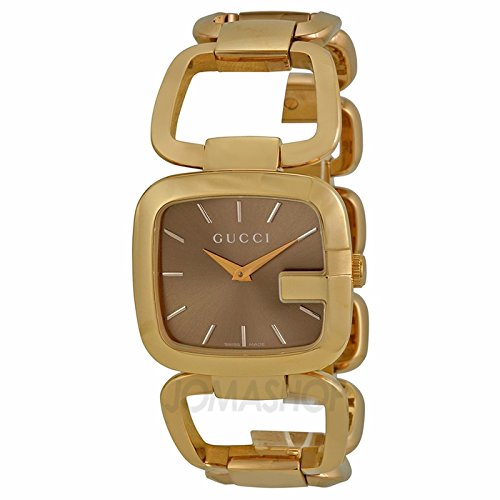 Gucci Gucci G Brown Dial Dorado Damas Reloj YA125408