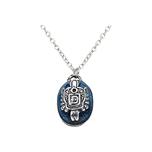 Access-o-risingg Vampire Diaries Damon Salvatore Blue Base Metal Alloy Pendant for Girls