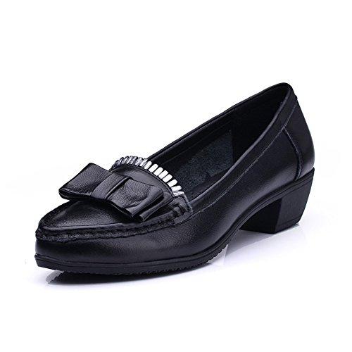 chaussures de maman automne/Chaussures à semelle souple et loisirs/Chaussures de travail A