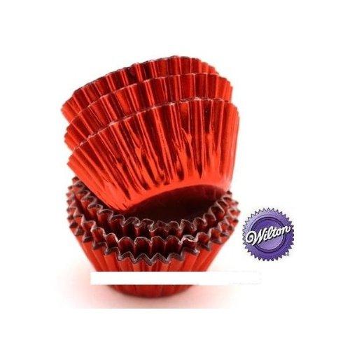 Für Cupcakes Bon Bon ø2,54cm rot