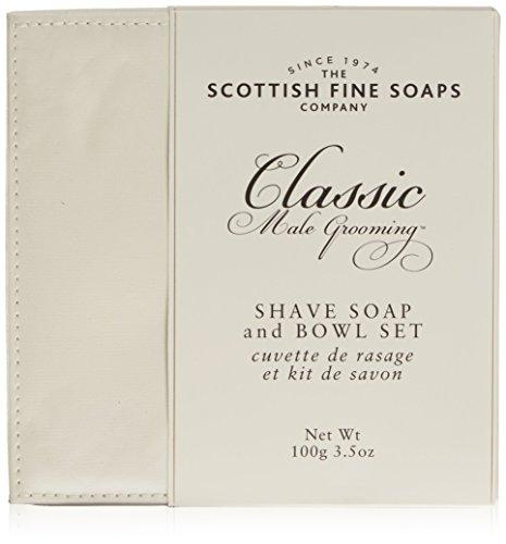 scottish-fine-soaps-set-depilazione-classico-sapone-e-portasapone-per-cura-del-corpo-da-uomo
