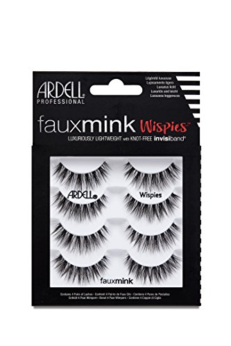 Ardell Wimpern (ARDELL Faux Mink Wispies 4 Pack, 25 g)