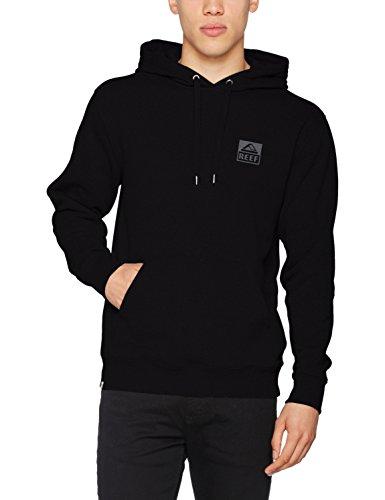 Classic Zip Hood (Reef_Apparel Herren Kapuzenpullover Classic Hood CC Schwarz (Black Bla), Small)