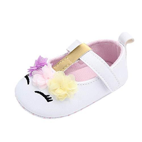 Bambina scarpe neonato cartone animato pizzo velcro scarpe eleganti bambini scarpe bimbo morbide suole comodo anti scivolo scarpe da principessa scarpe primi passi bambina bianche scarpe 0-3 mesi