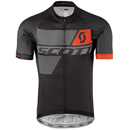 Scott RC Premium Pro Fahrrad Trikot kurz schwarz/grau/orange 2017: Größe: XXL (58) -