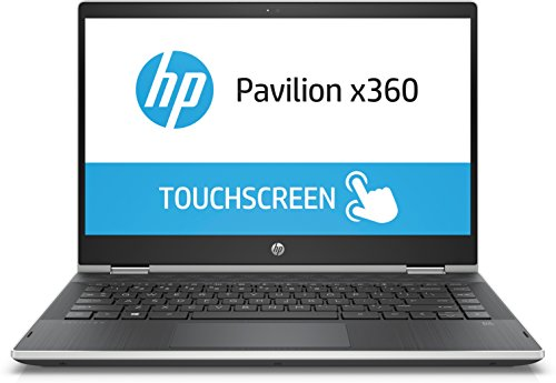 "HP Pavilion x360 14-cd0002nl 2.3GHz 4415U 14"" 1366 x 768Pixel Touch screen Argento Ibrido (2 in 1)"