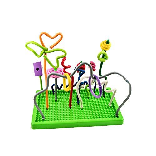 DYMAS Intellektuelles Spielzeug Kinder Puzzle Montiert Bausteine   Vielzahl Zauberstab 450 STÜCKE (450 Stück Puzzles)
