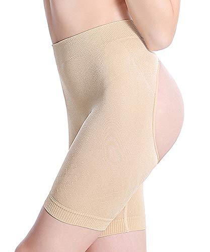 HOLYSNOW Frauen Low-Waist Butt Lifter Boyshorts Oberschenkel abnehmen Hosen Hip Enhancer Control Knicker (Butt Lifter Und Hip Enhancer)