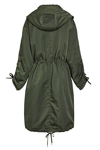 next Femme Parka Glamour Vert