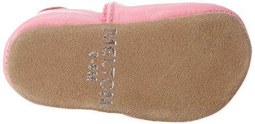 Melton - Krabbelschuh Heart Aus Weichem Leder, Scarpine e pantofole primi passi Bimba 0-24 Mehrfarbig (Soft cerise)