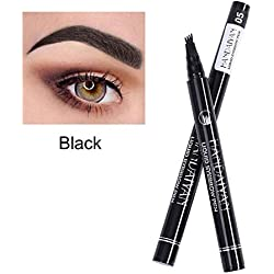 Dastrues Eyebrow Tattoo Pen,Eyebrow Pen Microblading Eyebrow Tattoo Pen Fine Sketch Liquid Eyebrow Pen Impermeable Lápiz de Cejas