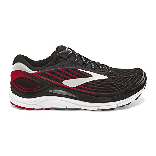 Brooks Herren Transcend 4 Laufschuhe Schwarz (Black/anthracite/toreador)