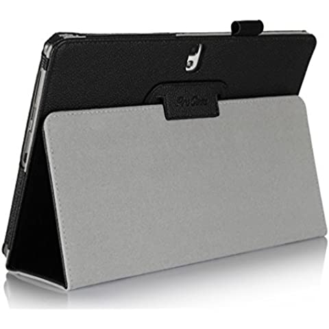 Procase Samsung Galaxy Tab 210.1Case–Funda de piel con soporte funda tipo libro para Samsung Galaxy Tab 210.1Pulgadas Tablet con el soporte,