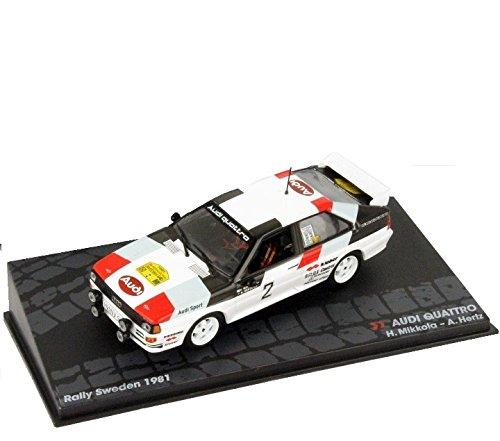 Rally Cars IXO 1:43 1/43 Audi Quattro Mikkola/Hertz 1981 Sweden