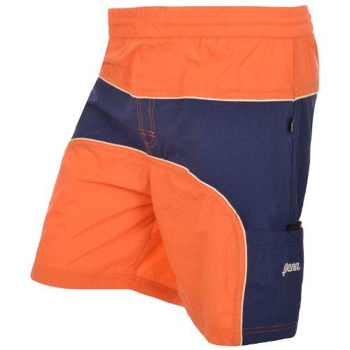Penn Short de bain tissé pour homme Longueur genou Orange - Orange