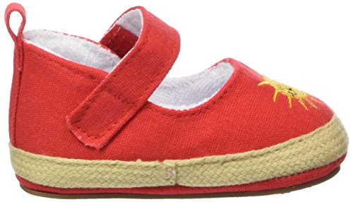 Sterntaler Baby Mädchen Krabbelschuhe Rot (paprikarot 806)