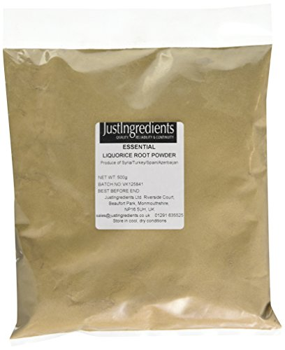 JustIngredients Essentials Liquorice Root Powder 500g Test