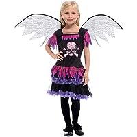 YTSLJ Disfraz De Ángel Negro De Halloween, Disfraz De Disfraz De Escenario De Disfraces De Disfraces De Cosplay (Color : Negro, Tamaño : XL)