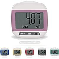 Incutex compteur de pas et calories podomètre calculateur distance avec écran LCD