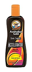 Australian Gold AGDTA250lot Dark Tanning Accelerator Lotion OHNE Bronzer (1x 250ml)