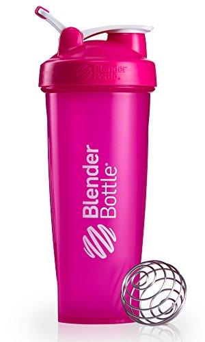 Blender Bottle Classic Loop - Protéine Shaker | Bouteille d'eau avec poignée de transport | 940 ml | pink