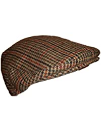 Kids/Childs Flat 'Grandad' Cap/Hat - 3 Sizes Available - Brown