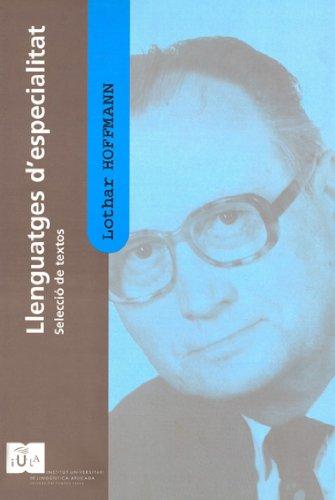Llenguatges d'especialitat (IULA (UPF))