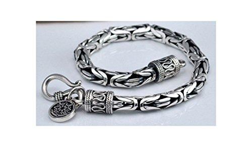 SaySure - 925 Sterling Silver Men bracelet .dragon Head