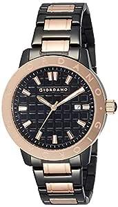 (Renewed) Giordano Analog Black Dial Men's Watch-1706-33