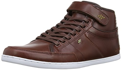 Boxfresh Swich NC Leather Schuhe dark brown-bronze - 40