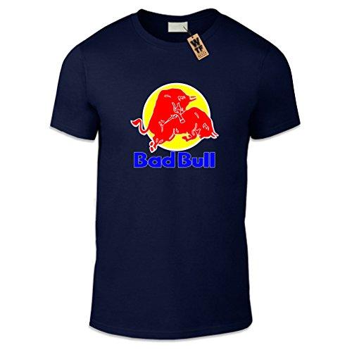 wtf-bad-bull-t-shirt-pour-homme-imprime-coupe-decontractee-differentes-tailles-et-couleurs-bleu-moye