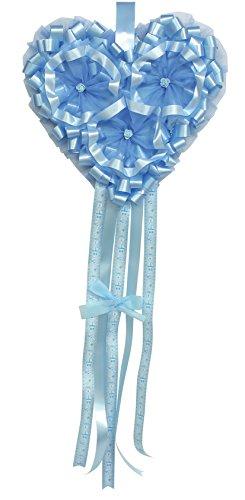 Babysanity fiocchi e cicognebabysanity fiocco nascita neonata a forma di cicogna varie misura per la nascita del tuo bambino/a (fiocco cuore azzurro)