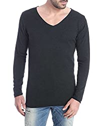 Jack & Jones Men's Cotton  Sweater (5712834659969_Black_Small)