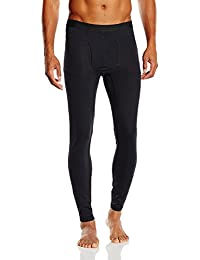 Columbia Midweight Stretch Tight - Leggings para hombre, color negro, talla L