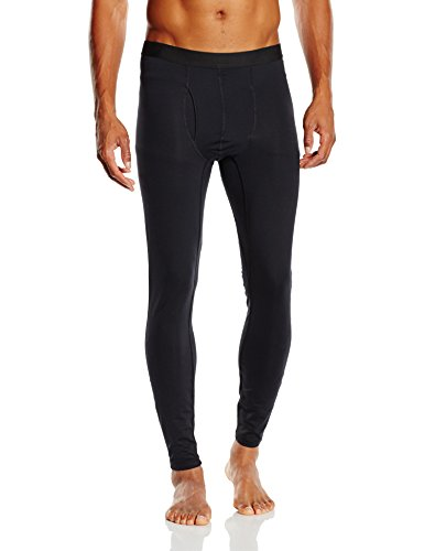 Columbia Midweight Stretch Tight - Leggings para hombre, color negro,