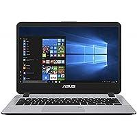 ASUS VivoBooK Intel Core i3 7th Gen 14-inch Thin and Light Laptop (4GB/1TB HDD/Windows 10/Stary Gray/1.55 Kg), X407UA-BV345T