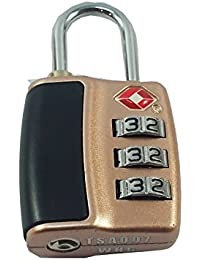 DOCOSS-552-TSA Approved Lock 3 Digit For USA International Number Locks For Luggage Bag Travelling Password Locks...