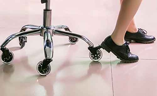 Cusfull pcs rotelle sedia da ufficio ricambio a rotelle pavimenti